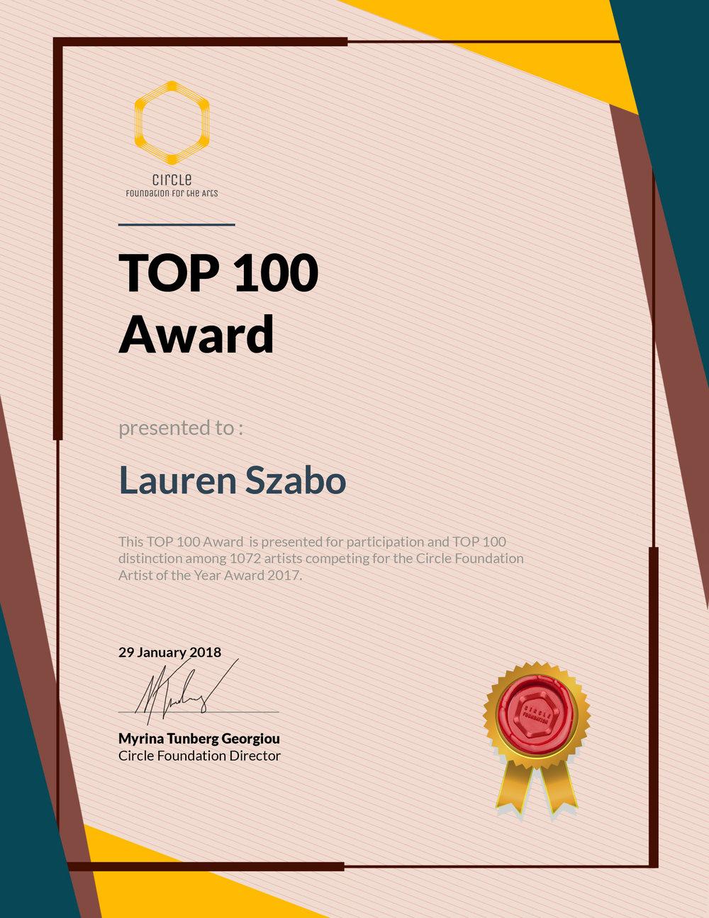 Top 100, 2018