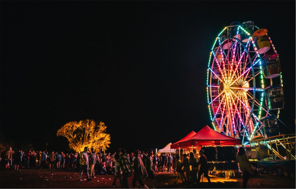 BIG PINEAPPLE music festival - QLD - MAY