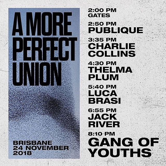 Today, we're ready for you! @amoreperfectu @gangofyouths 💫