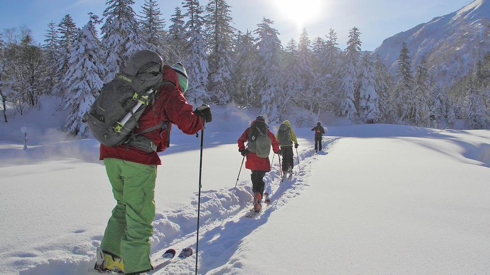 Toccata Mountains touring.