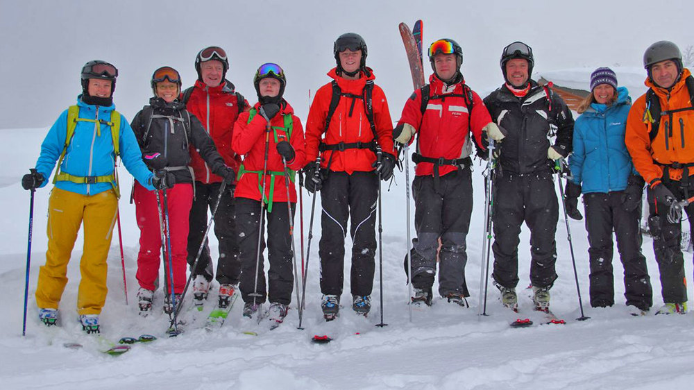 Tokachi Toyota Skiing group.