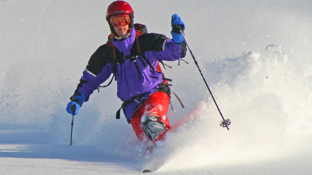 Ski Tokachi backcountry powder