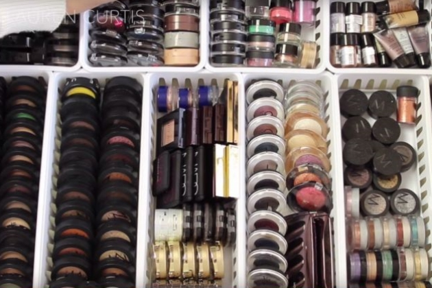 The world's 5 biggest makeup collections will literally make you drool