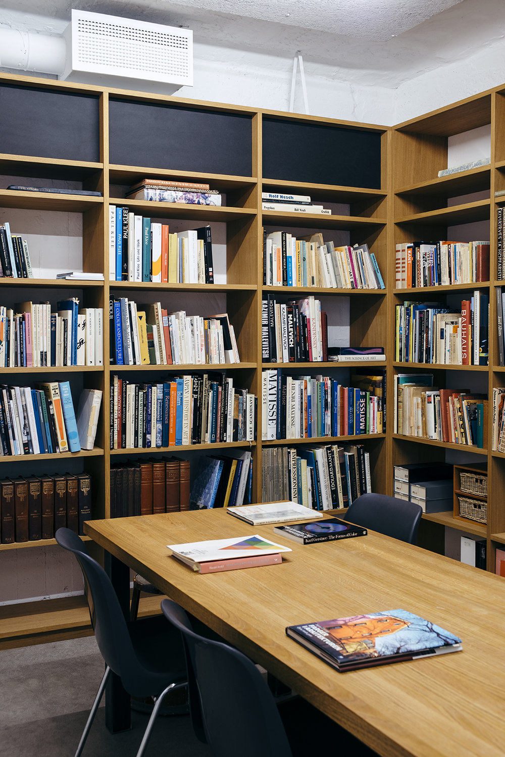 Bibliotek samlet av Irma Salo Jæger.