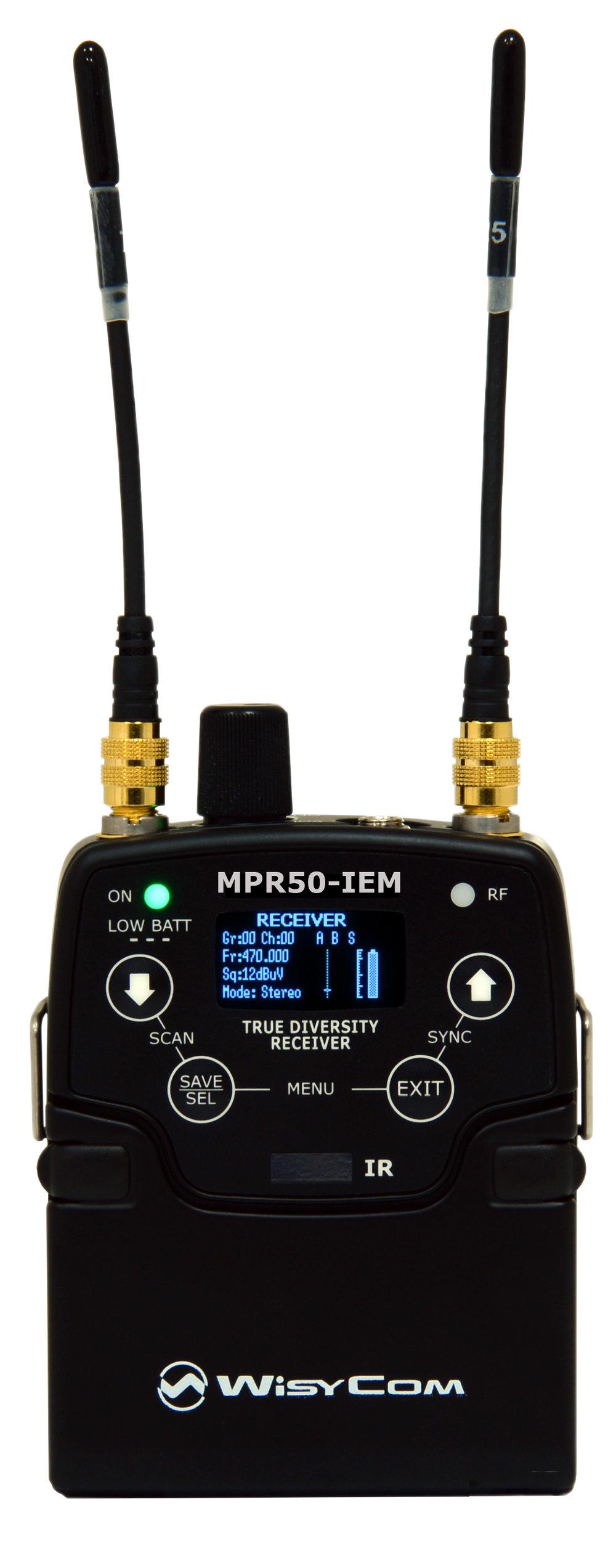 Wisycom MPR 50 IEM.