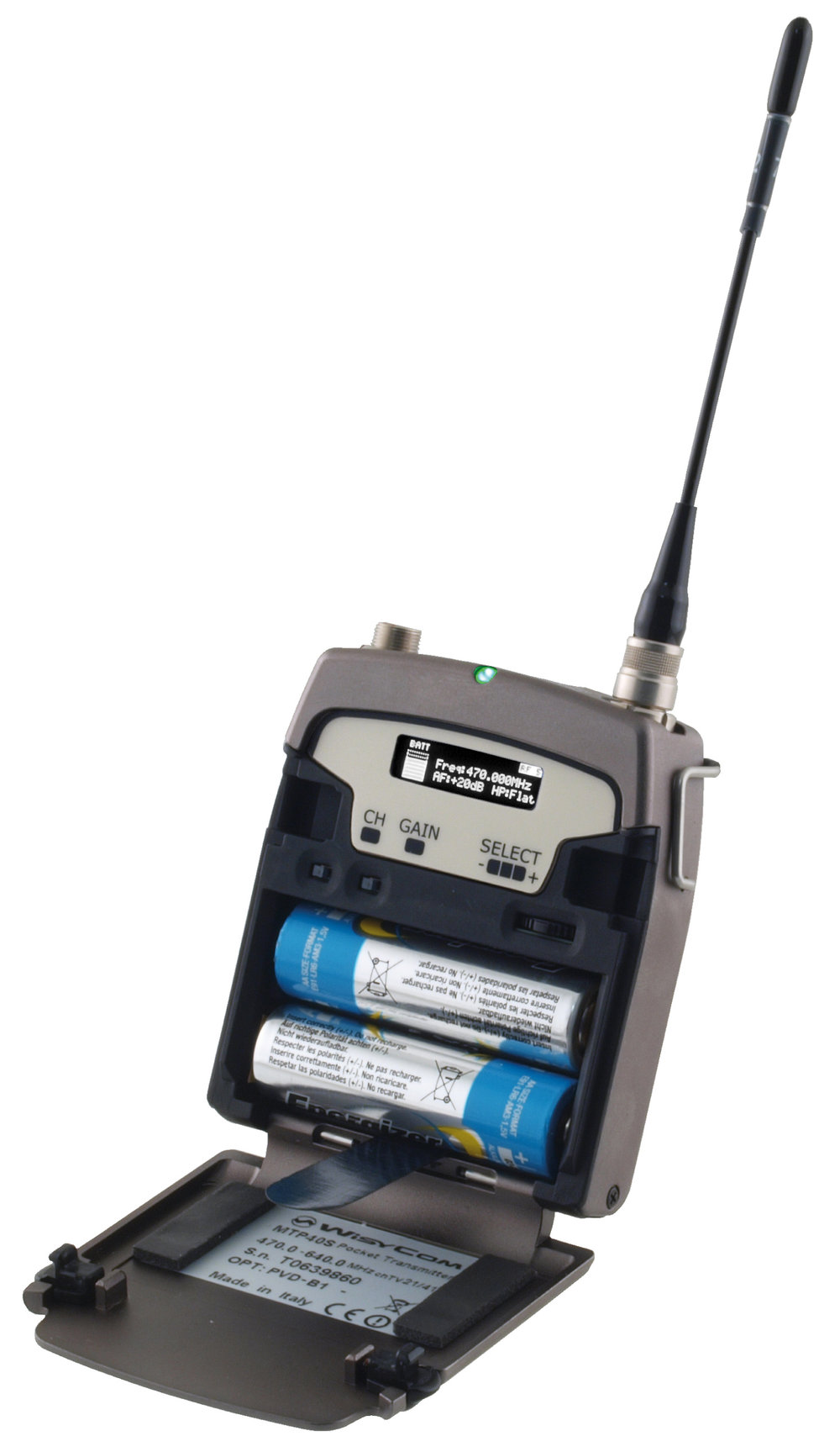 Wisycom MTP 40 S.