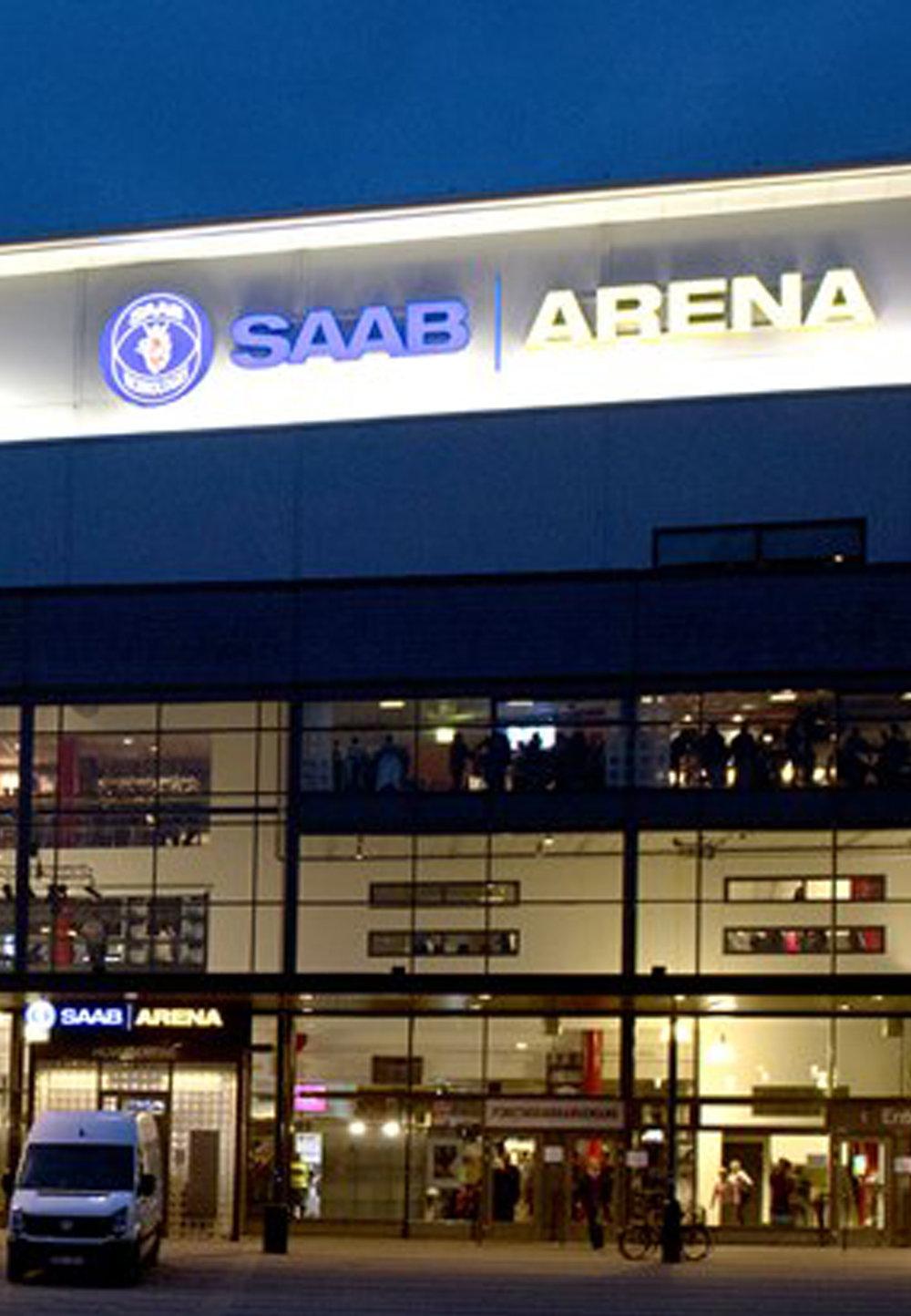 Linköping 24/10 - Saab Arena