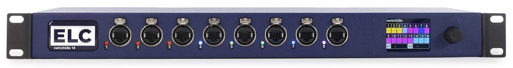 ELC dmXLAN switch 8GBx18