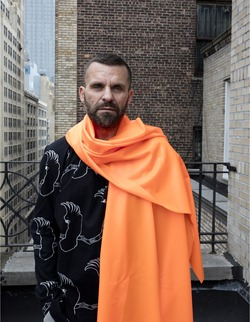 The Norwegian artist Bjarne Melgaard (Photo: © 2016 Ari Marcopoulos)