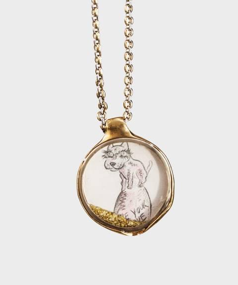 Kjærlighetserklæring. «I be your love» er det dyreste smykket i kolleksjonen, og Melgaard-originalen koster 248.000 kroner.