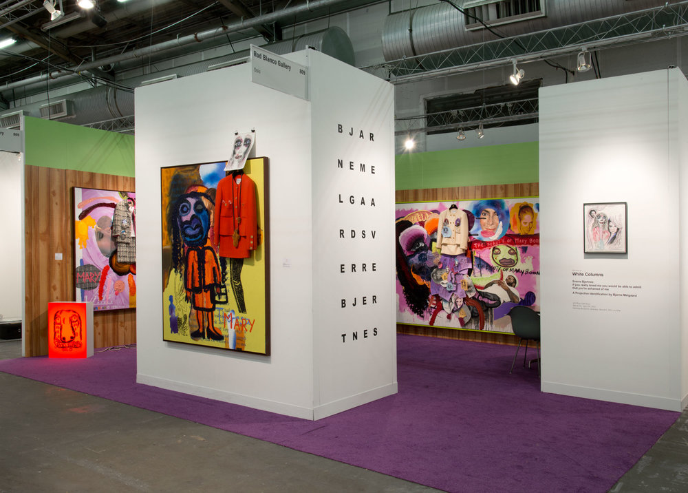 The Armory Show, New York Bjarne Melgaard and Sverre Bjertnes 07.03.13 - 10.03.13