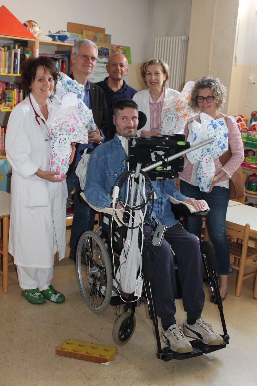 Pasqua 2017 in Pediatria dell'ospedale Ravenna