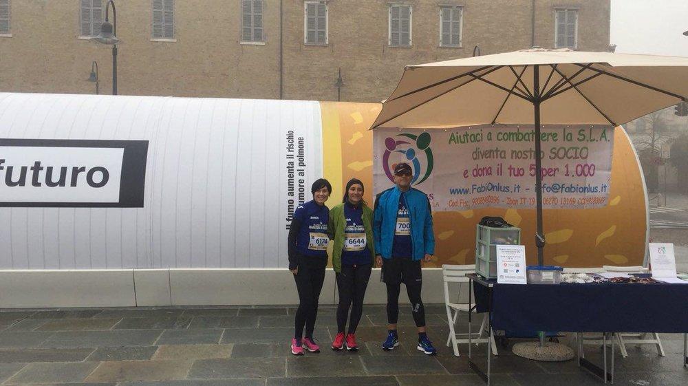 "12.11.17 - Maratona di Ravenna e ""Avanti tutta Onlus"""
