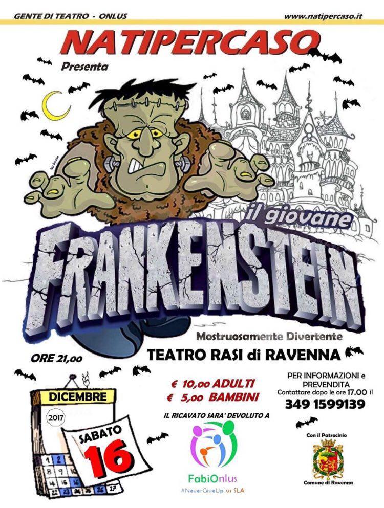 """16.12.17 - Il giovane Frankeistein"""""""