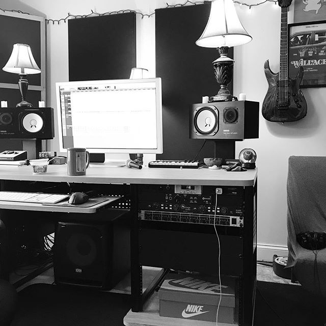 @thornwallstudios 2019 starts with the production of some new tunes. #newmusic #studio #whatthewhat #newalbum #staygrinding