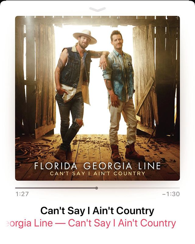 @floridageorgialine wow...this album start to finish, best work yet. Y'all boys went and killed the game again. #floridageorgialine #newalbum #music #cantsayiaintcountry #killinthegame #getitnow #tylerhubbard #briankelley #countrymusic