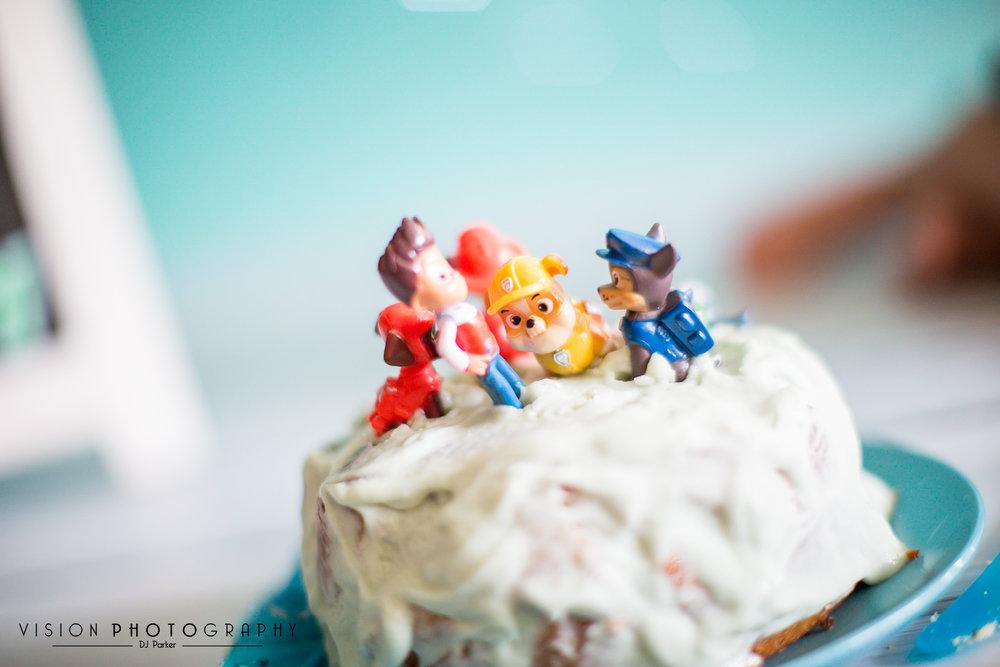 Cake smash home visit