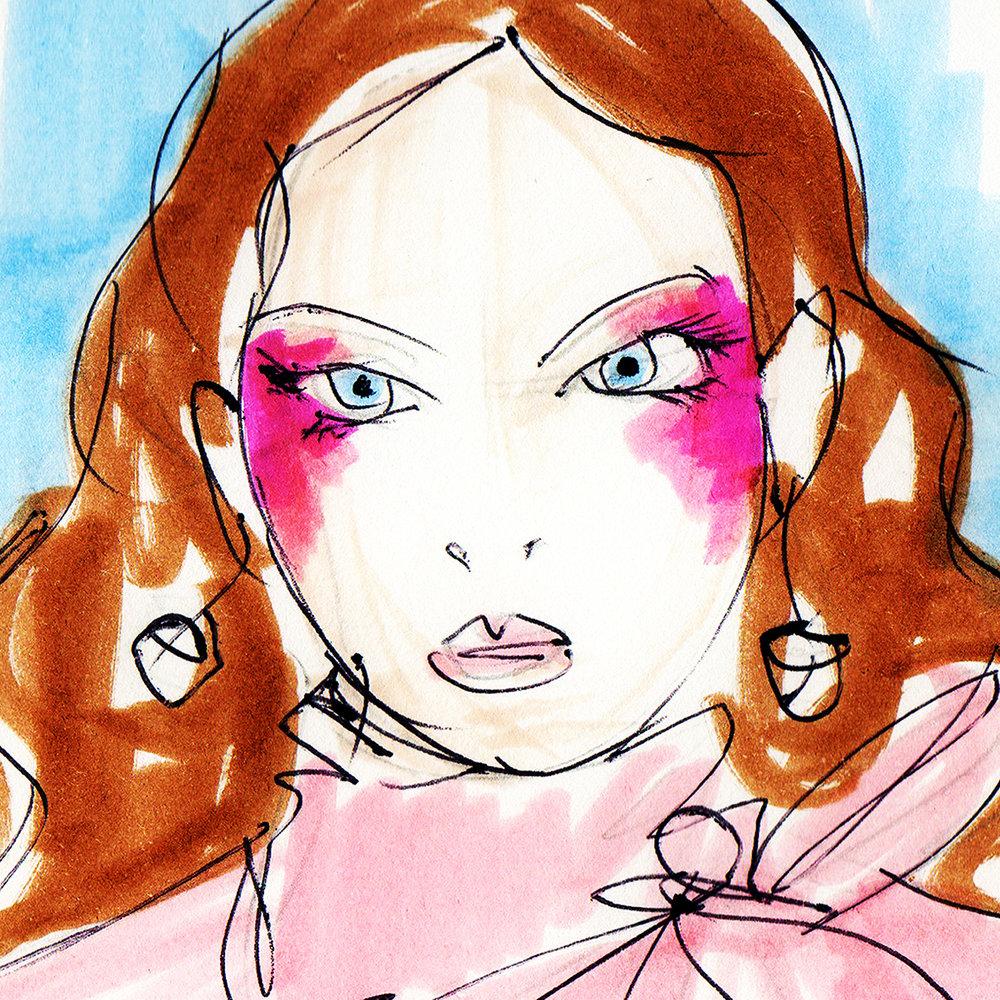 "Valentino ""The Face"" | Paris Fashion Week 2017"