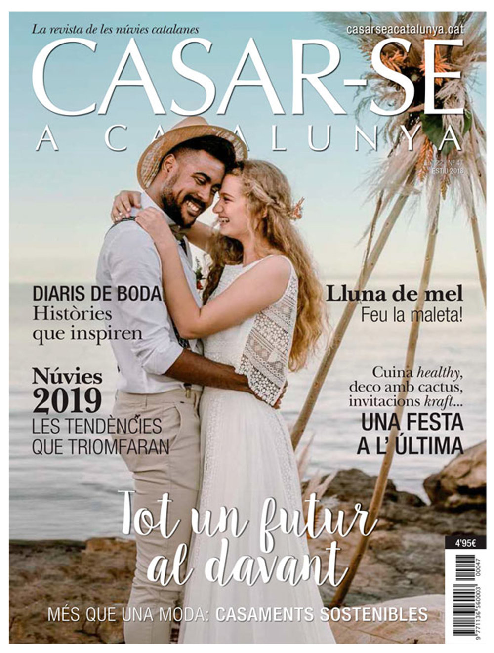 As featured in the summer issue of Casar-se a Catalunya -