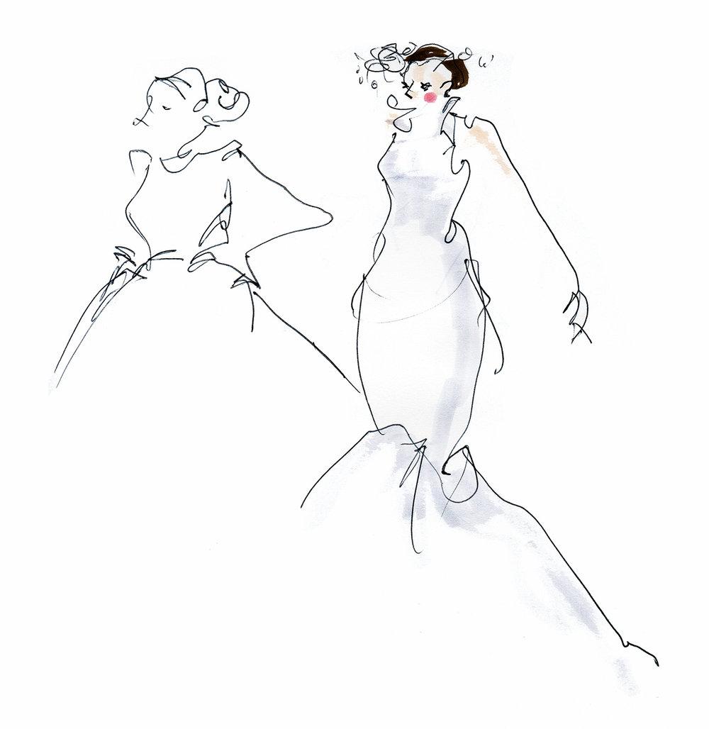 Bridal Catwalk moment
