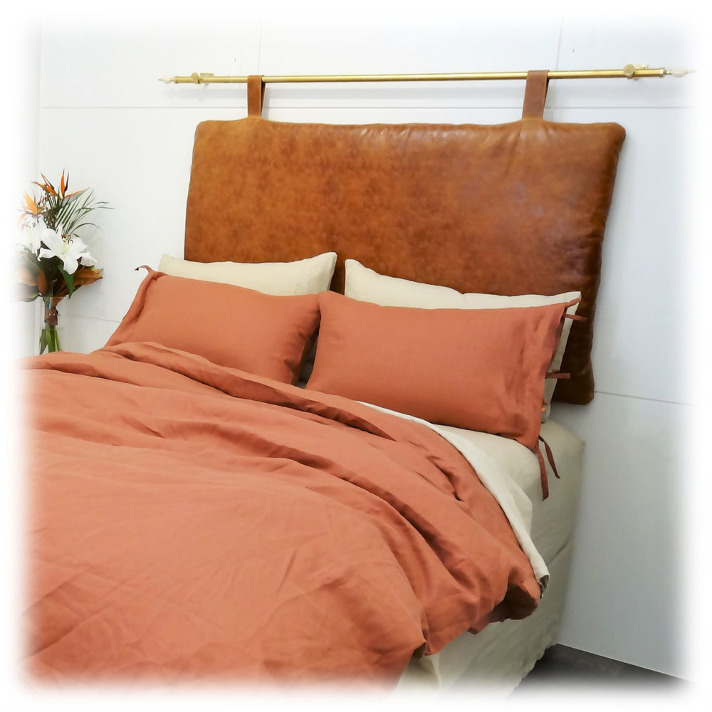 Ruby Island Red Duvet Cover and Pillow Cases