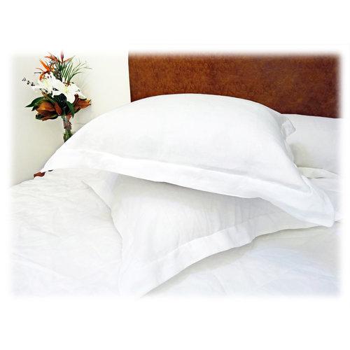 bath x cotton pillow down of european product euro square bedding alternative pillows set