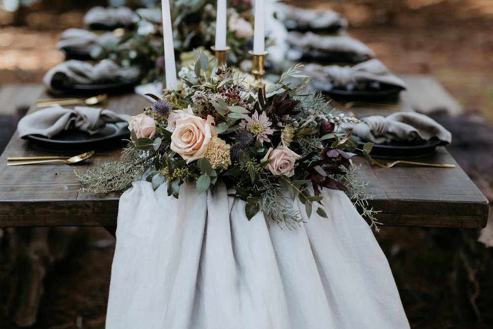 The Green Room Flower Co. Styled Shoot, Image By Sophie Lewis Photography