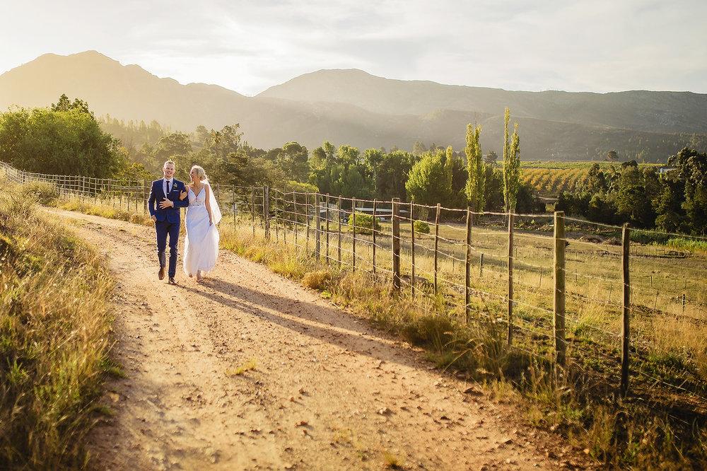 Oppie Plaas Venue Wedding - Brandon & Danielle