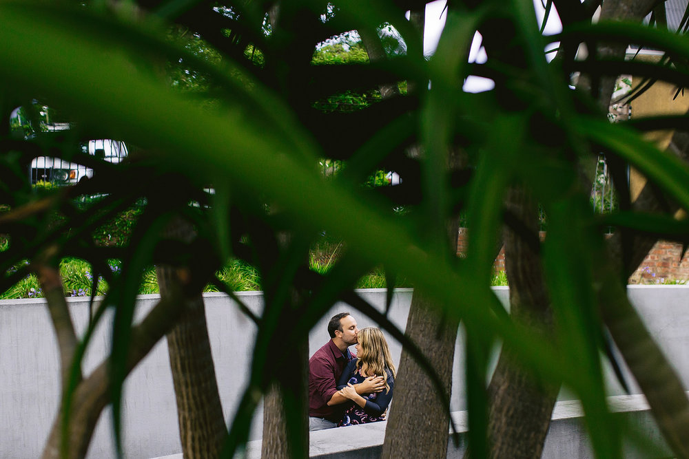 Urban Engagement Shoot - Ernie & Caro