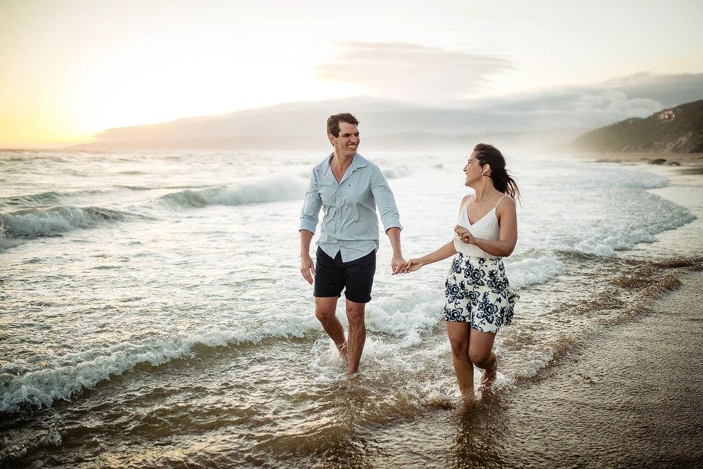 Garden Route Beach Engagement Shoot - Andries & Amira