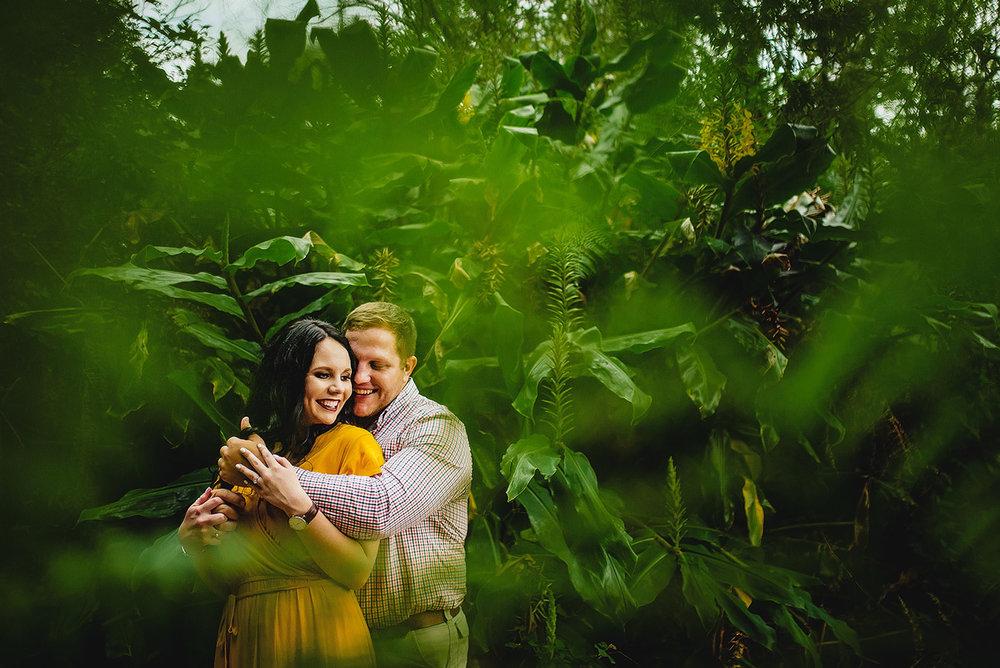 Garden Route Forest Portraits - Ruan & Carmen