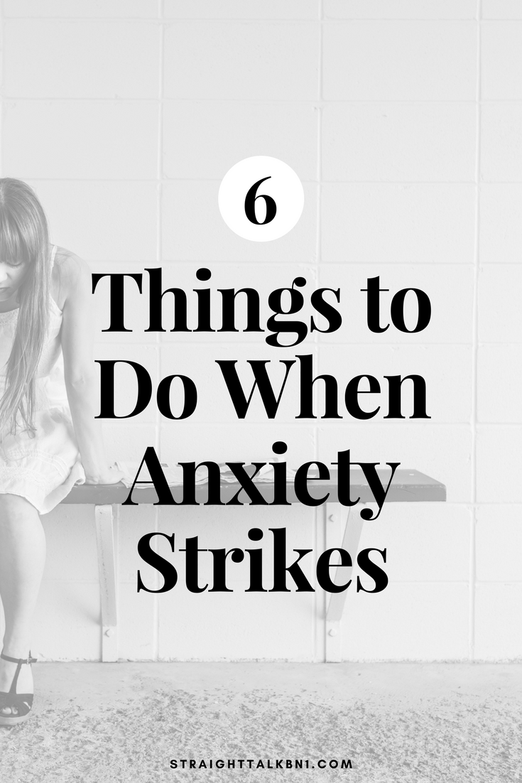 Today on the BN1 Blog, I'm sharing six ways to help calm anxious minds. This article is offering easy, actionable tips to young people who suffer from anxiety and other mental health issues.