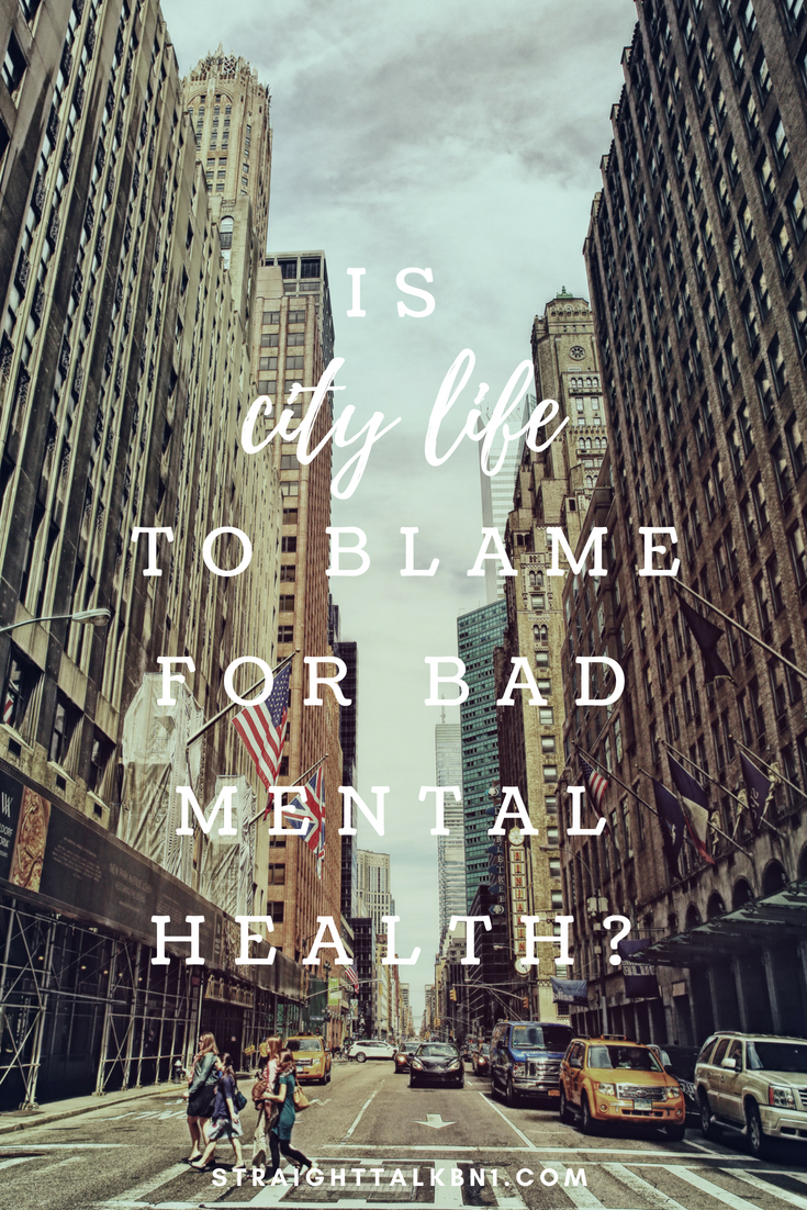 Do you think fast-paced city living has a negative effect on mental health? Many millennials are stuck in paycheck to paycheck cycles and struggling with anxiety. Is mass-consumerism to blame?
