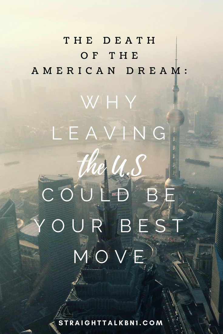 Are you STUCK? If you're sick of paying high rents, earning low wages and wondering what the hell happened it might be time to go on an adventure. This is the death of the American dream.