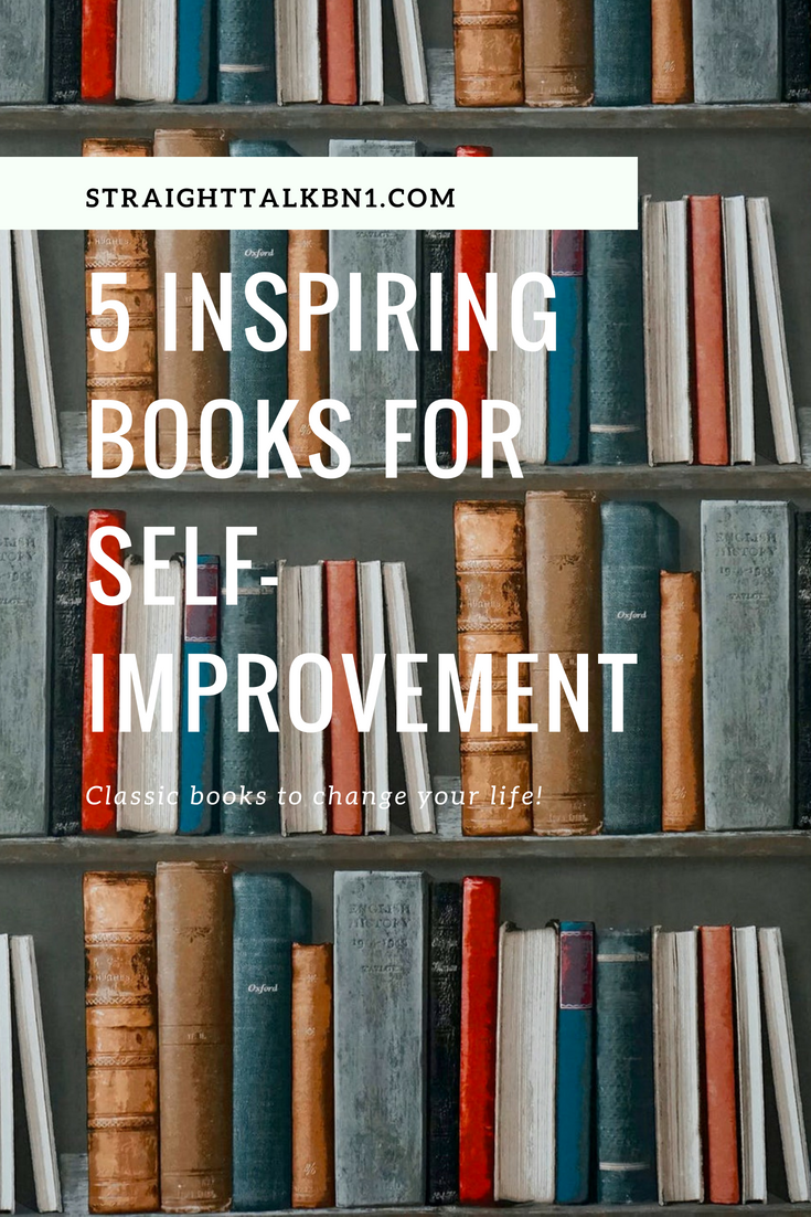 Transform your life with the wisdom from inside these 5 top self-help books! This list include classics like Louise Hay's You Can Heal Your Life and Rich Dad, Poor Dad by Robert Kiyosaki just to name a few.