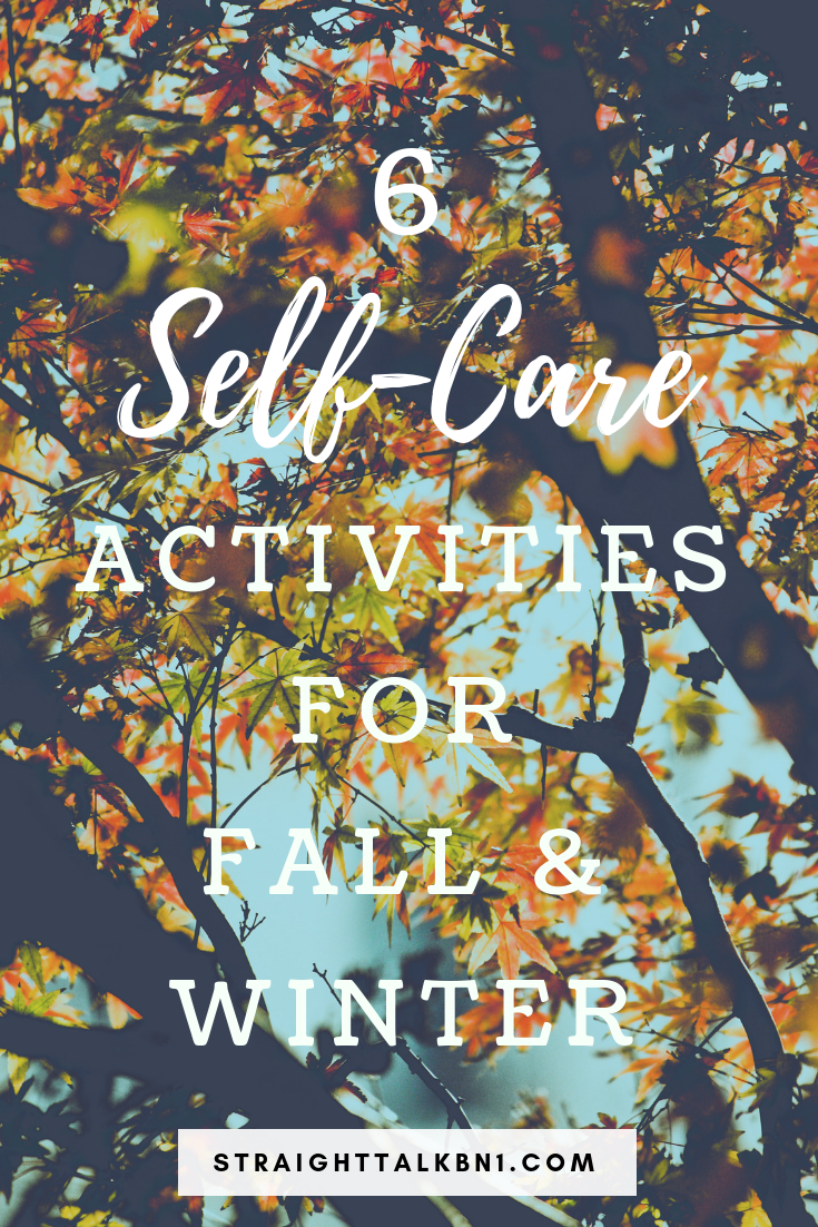 Here are 6 self care ideas for fall and winter. As the weather gets colder, it's more important than ever to look after your mental health and general wellness especially if you have anxiety or depression. I hope these self care tips help!