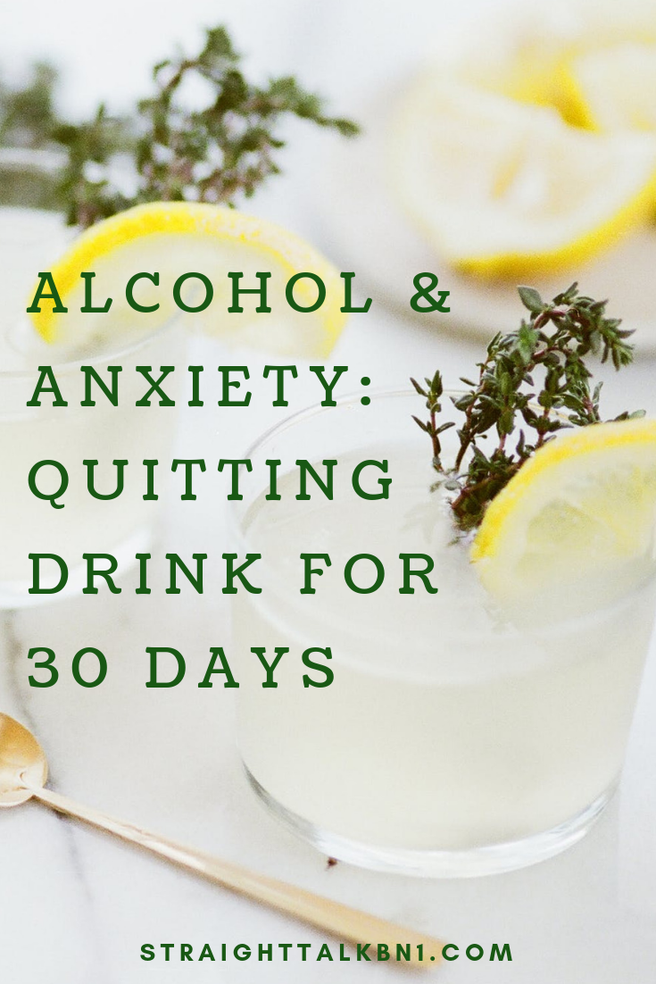 Do you get anxious on a hangover? Or maybe you are using alcohol as an escapism? I've done all these and more, but now I'm trying to quit alcohol for 30 days in an attempt to reduce my anxiety. #soberchallenge