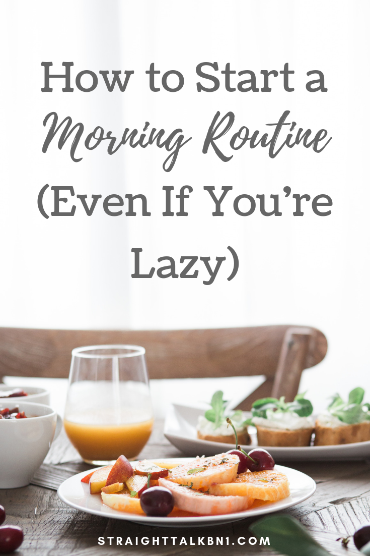 Always skipping breakfast? Start your day right with a chilled out morning routine. You'll have time to exercise, eat, and get ready without the stress of running late.