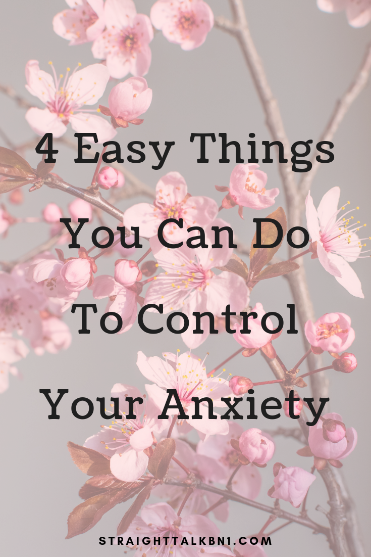Struggling with anxiety? Here are 4 small lifestyle changes you can make to reduce your anxiety and improve your mental health. #anxietytips