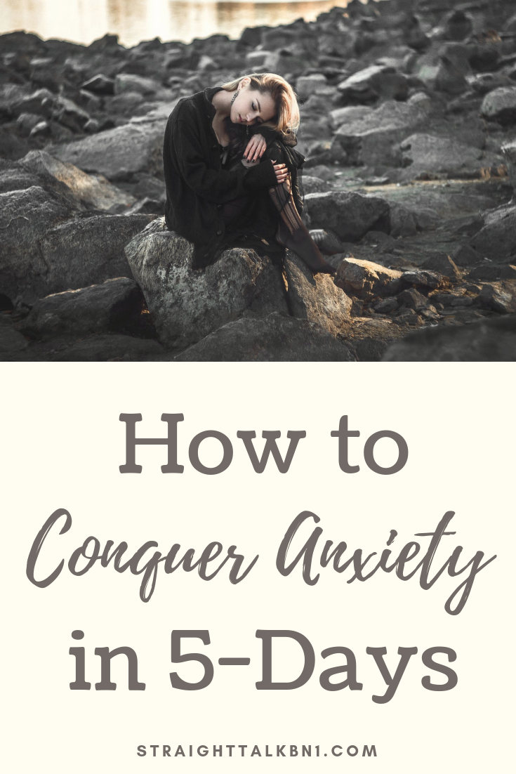If you're ready to finally do something about your anxiety, join my FREE Conquer Anxiety in 5 Days course. I'll give you all the tips and tricks you need to reduce/eliminate your anxiety.