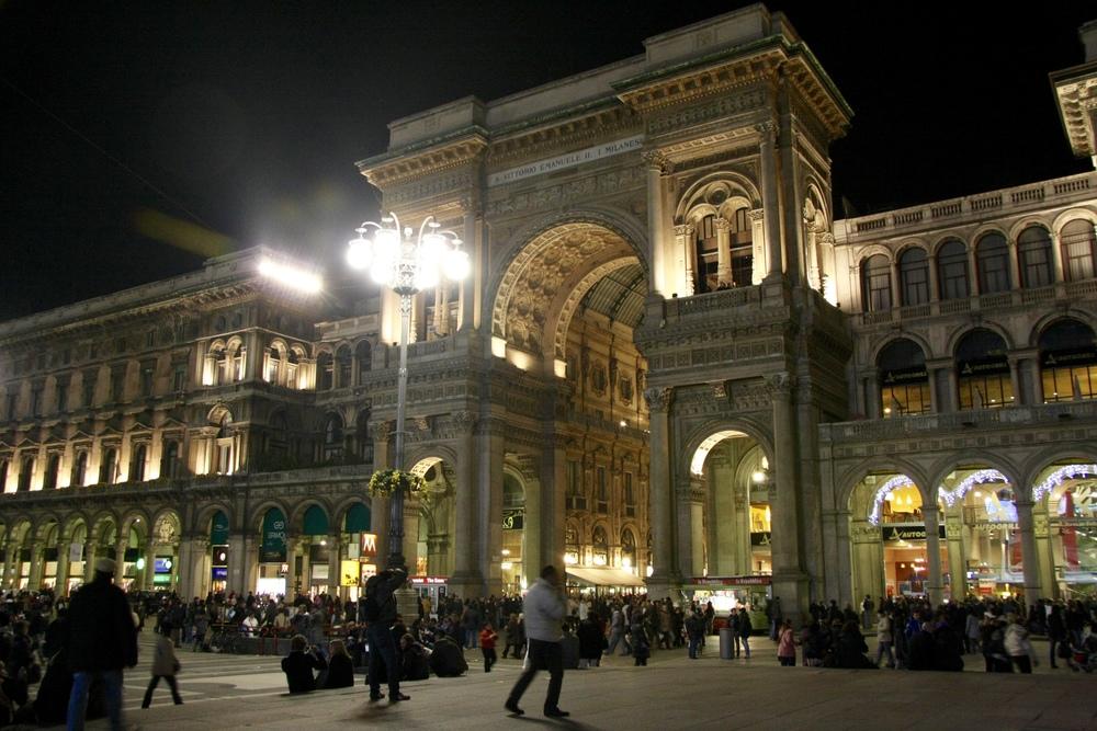 La galleria di Milano