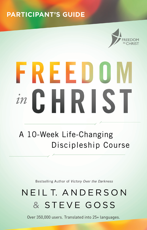 Freedom in Christ Discipleship Course Starting November 27 - We're excited to run a Freedom in Christ Discipleship Course in our local church, Chiesa Battista di Casorate Primo, beginning on November 27. If you live in the area and are interested in participating, please contact us. The course will run every Tuesday from 9:00-11:30 for the duration of the course.The award-winning Freedom In Christ Discipleship Course is a proven and effective way for churches to help Christians become fruitful disciples. It involves 13 sessions and a ministry component called the Steps to Freedom in Christ. Churches normally run a session a week, with an Away Day for the Steps between Sessions 9 and 10, making it a 13-14 week course.
