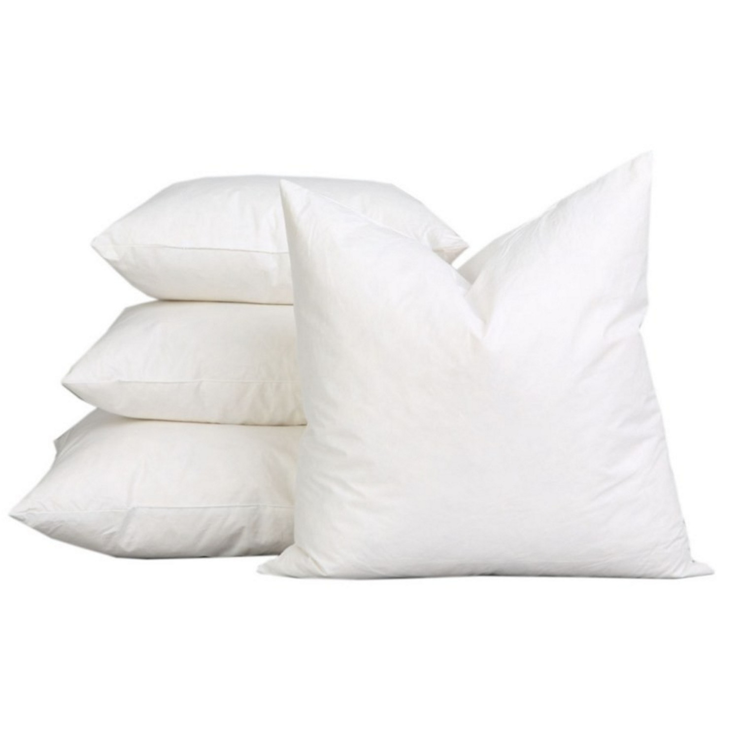 a1hc sterilized extra fluff and durable 100 cotton pillow insert set of 2
