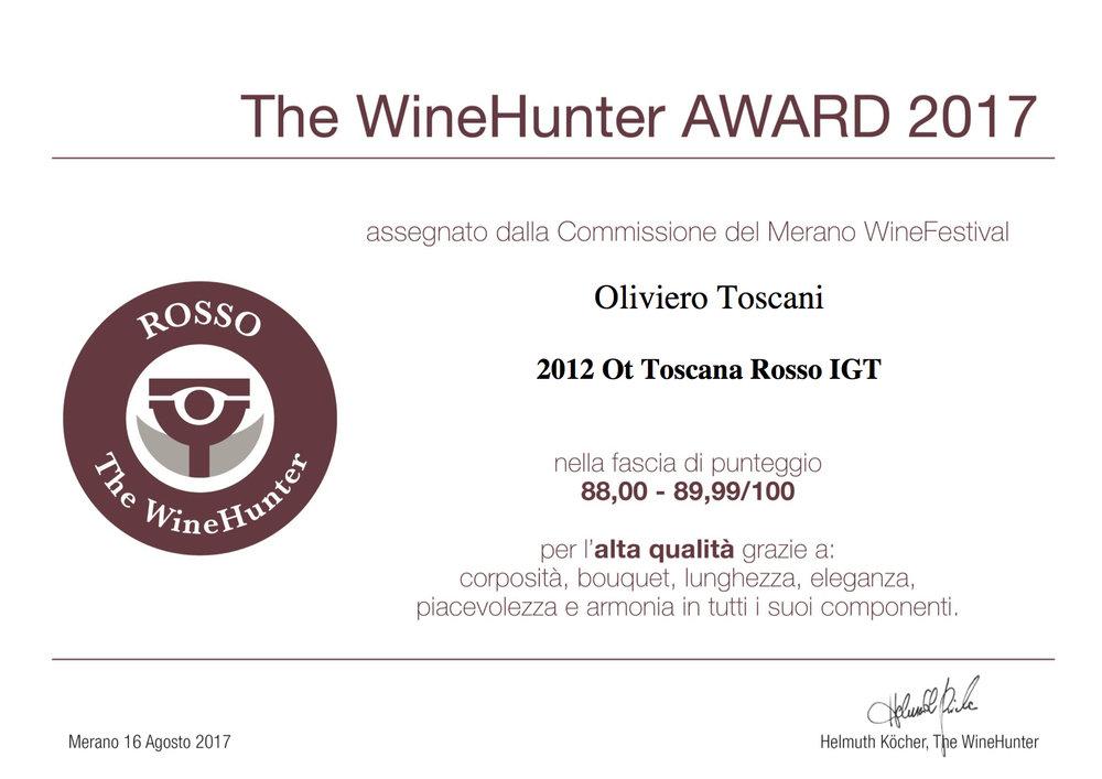 The WineHunter Award  Rosso-1304170817.jpg