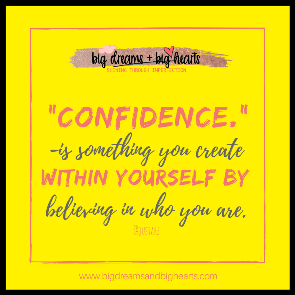 Creating Confidence In Who You Are