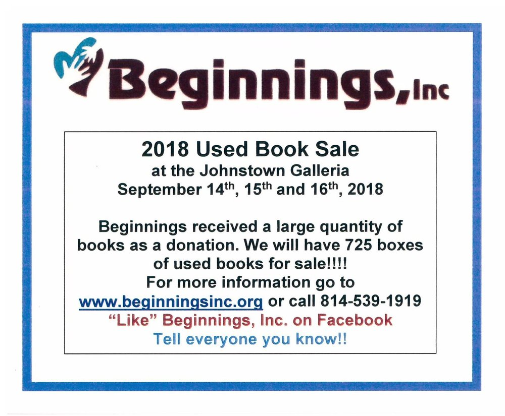 Used Book Sale.Beginnings.9.14-9.16.jpg