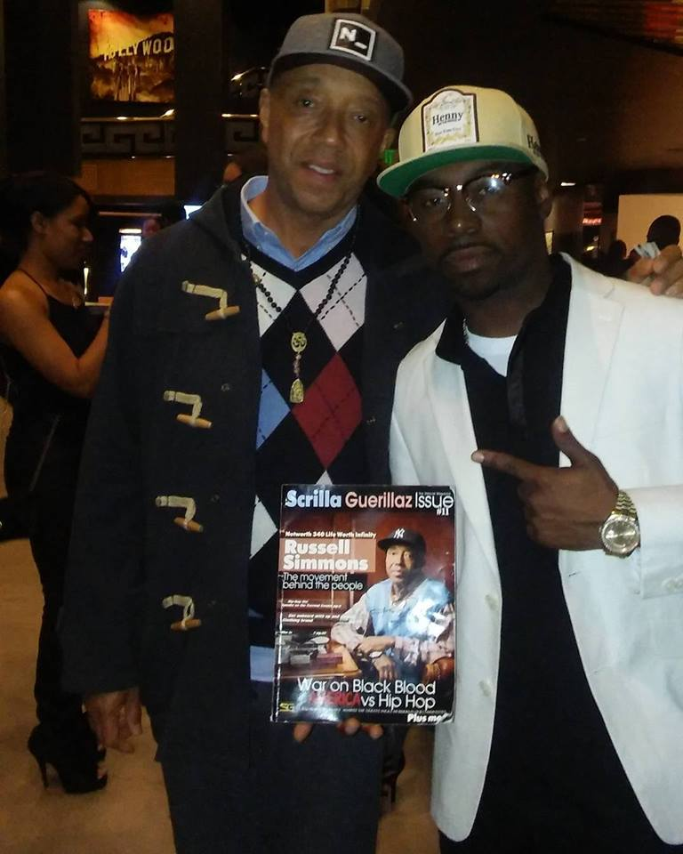 Hip-Hop mogul Russel Simmons and SG Magazine CEO Daze