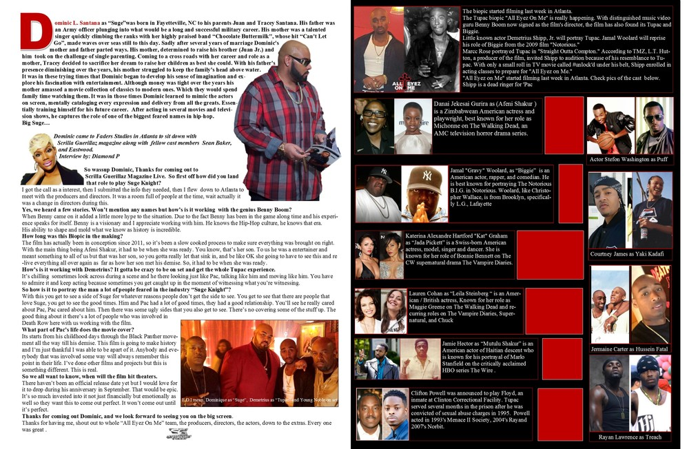 Scrilla Guerillaz Magazine issue 15 available now  WWW.SGZMAG.COM