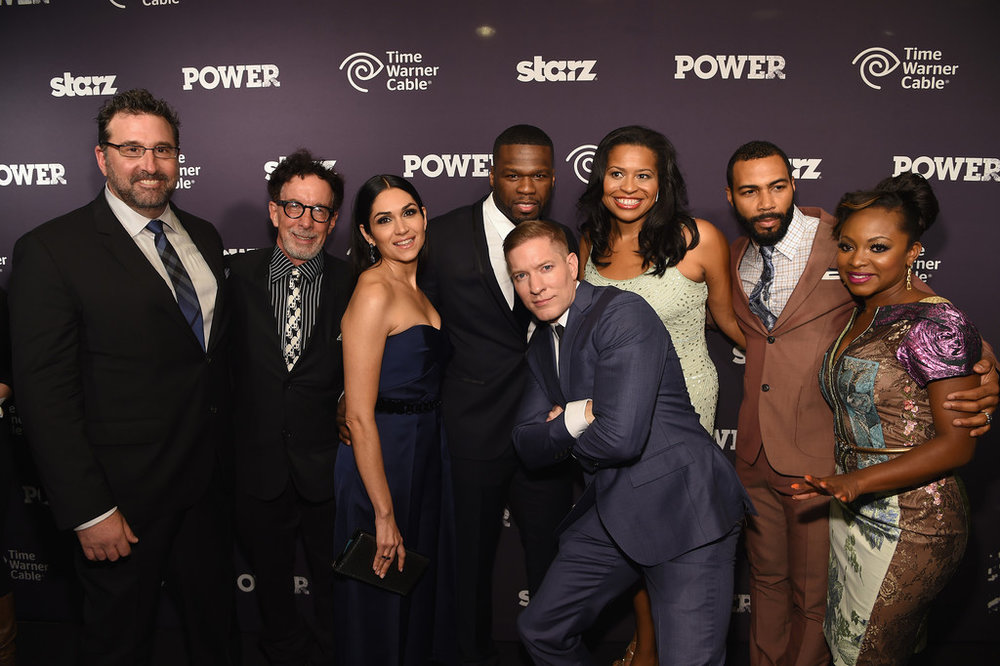 "The Cast of Starz Hit series ""Power"""