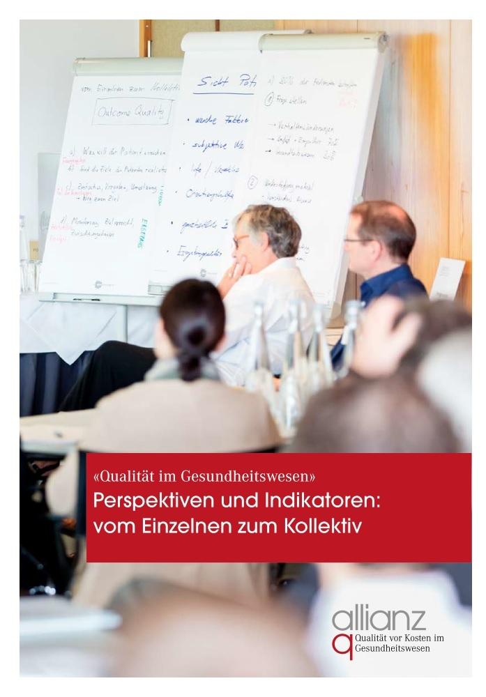 Qualität im Gesundheitswesen: allianz q-Broschüre zum Thema NCDs